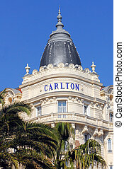 Carlton Hotel - The Carlton Hotel in Cannes at the French...