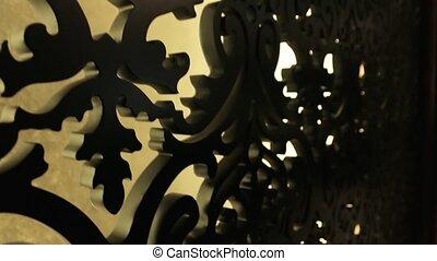 The Carved Wood Pattern - The carved wood pattern interior...