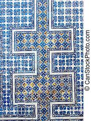 The Casa de los Azulejos wall