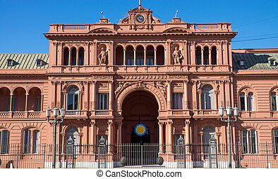 The Casa Rosada in Buenis Aires, Argentina
