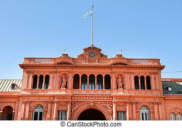 """Casa Rosada - The """"Casa Rosada"""", the governmental building..."""