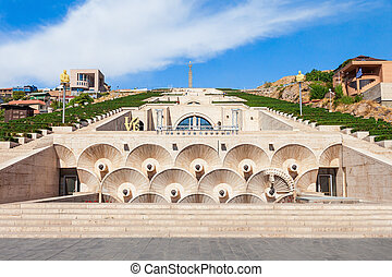 The Cascade, Yerevan - The Cascade is a giant stairway in...