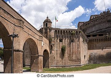 The Castel Sant'Angelo, Rome, Italy