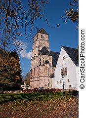 The Castle Church in Chemnitz