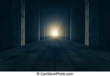 The castle hallways - A passage in the castle to the dawn of...