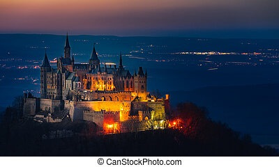 The castle Hohenzollern