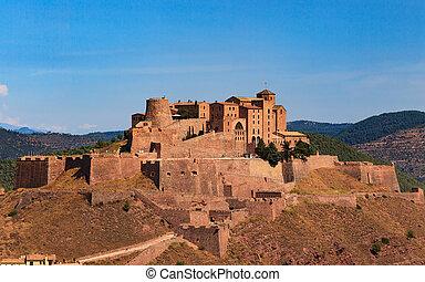 The castle of Cardona, Catalonia, Spain
