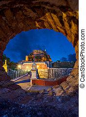 The castle of Corfu