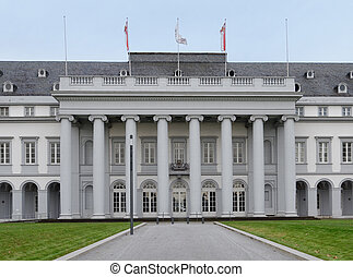 the castle of Koblenz