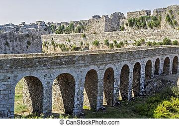 the castle of Methoni Messenia Peloponnese Greece - medieval Venetian fortification