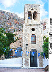 the castle of Monemvasia Peloponnese Greece