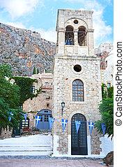 the castle of Monemvasia Peloponnese Greece