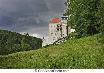 The castle of Peskov Skala