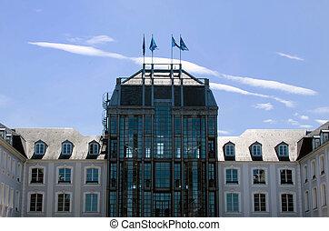 the castle of Saarbrücken