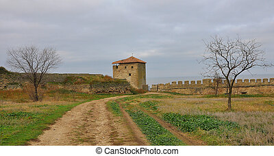 The castle tower