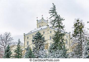 The Castle Trakoscan, Croatia - The old castle Trakoscan in...