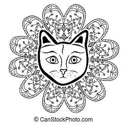 the cat mandala