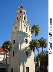 The Cathedral Basilica of St. Augustine Florida. 1565-2010