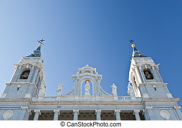 The Cathedral of Almudena in Madrid