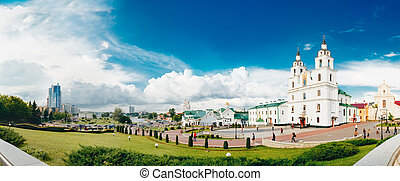 The cathedral of Holy Spirit in Minsk, Belarus - MINSK - JUN...