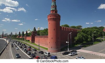 The Cathedral of Intercession of Theotokos on Moat, popularly known as Saint Basil's Cathedral, GUM