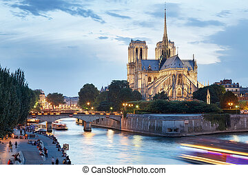 Notre Dame de Paris - The Cathedral of Notre Dame de Paris...