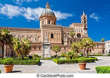 The Cathedral of Palermo is an architectural complex in ...