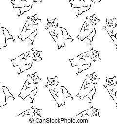 the cats background