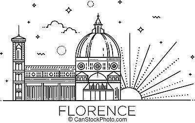 The Cattedrale di Santa Maria del Fiore - The symbol of Italy, Florence