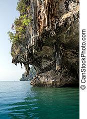 The Cave of James Bond Island, Phang Nga, Thailand - The...