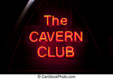 The Cavern Club in Liverpool - The historic Cavern Club in...