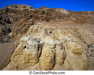 The caves of Qumran