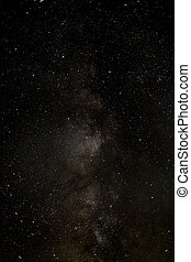 The centre of the Milky Way.