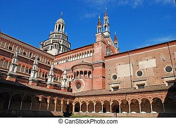The Certosa di Pavia or Charterhous
