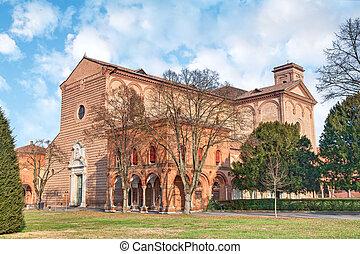 the Certosa of Ferrara, Italy - Church of St Cristopher...