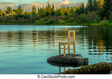The Chair and the Lake