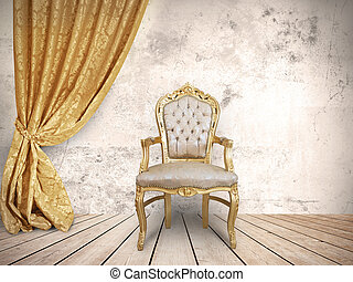 The chair of the successful - Concept of success with...
