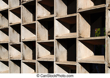 the Chandigarh College of Architecture is established as an integral part of the great Chandigarh Experiment of Corbusier, Punjab India