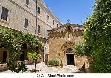 The Chapel of the Flagellation, Jerusalem