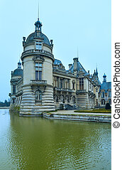 Chateau de Chantilly (France).