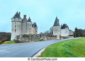 The Chateau de Montpoupon, France.