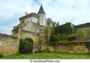 The Chateau de Montsoreau, France.