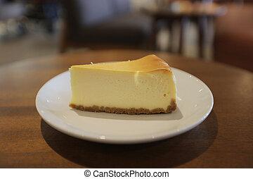 the cheese cake slice