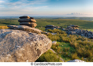 The Cheeswring on Bodmin Moor - The Cheesewring a weathered ...