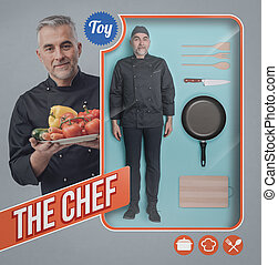 The chef doll