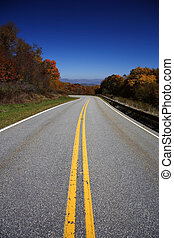 Cherohala Skyway - The Cherohala Skyway crosses the Unicoi...