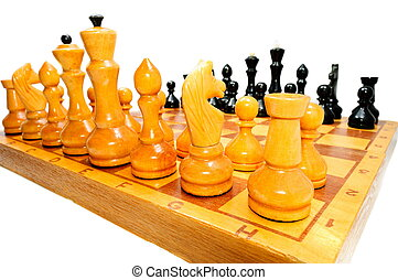 The chess pieces