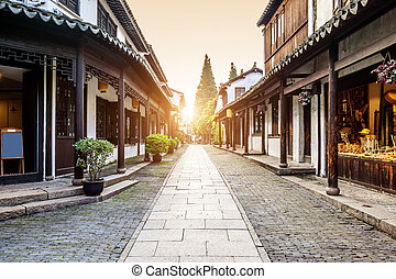 The Chinese element -- Zhouzhuang