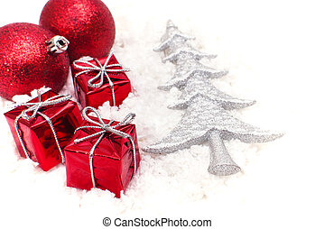 the christmas gifts and the tree