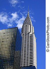 The Chrysler building in New York City The Chrysler building in